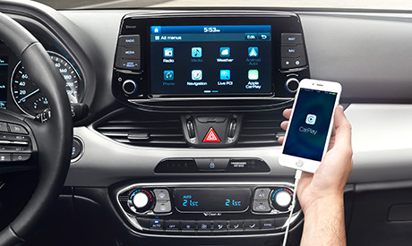i30 apple carplay android auto